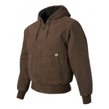 Cheyenne Boulder Cloth™ Hooded Jacket with Tricot Quilt Lining