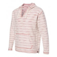 Baja French Terry V-Neck Hooded Pullover