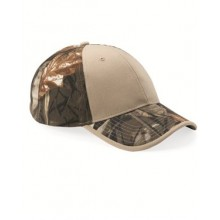 Camo with Solid Front Cap