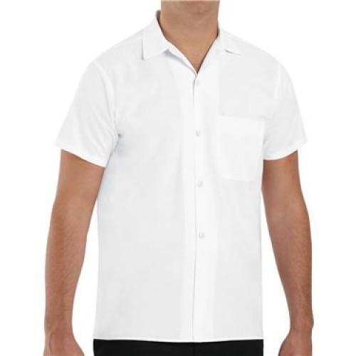 Button Front Cook Shirtuniforms