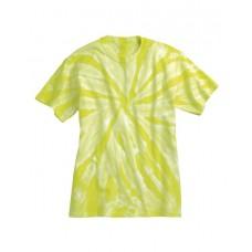 Tone-on-Tone Pinwheel Short Sleeve T-ShirtHigh Visibility200TTDyenomite
