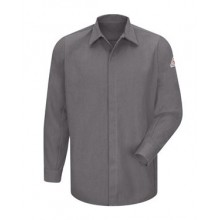 Concealed-Gripper Pocketless Long Sleeve Shirt - CoolTouch® 2