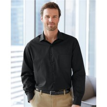 Broadcloth Point Collar Solid Shirt
